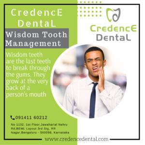 Wisdom teeth management   Gums